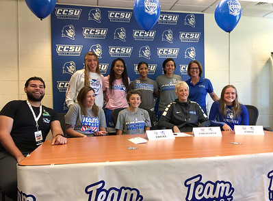new-britain-native-battling-cancer-signs-letter-of-intent-with-ccsu-womens-basketball-as-part-of-team-impact-program